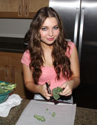 Sammi Hanratty cooking at home in Los Angeles 03/24/14