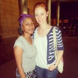 Deborah Ann Woll - TwitPic From a Fan - Aug 3, 2012