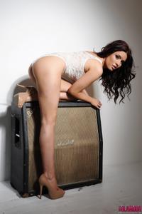 Kelly Andrews - Strips from her white bodysuit i42pkq2zmn.jpg