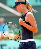 Maria Sharapova at 2008 French Open at Roland Garros in Paris